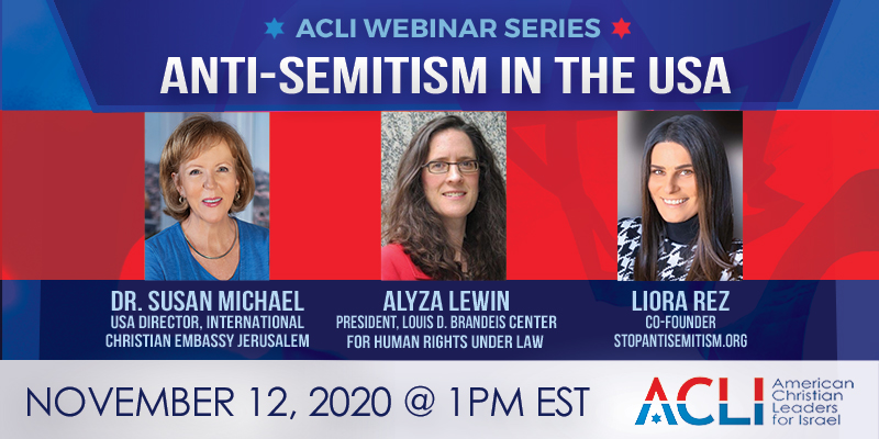 Anti-Semitism in the USA – November 12th, 2020