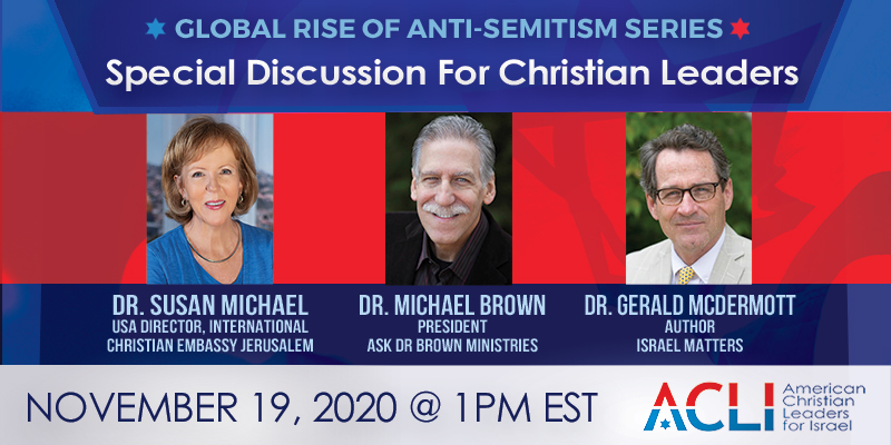 Special Discussion For Christian Leaders – November 19th, 2020