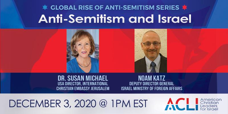 Anti-Semitism and Israel – December 3rd, 2020