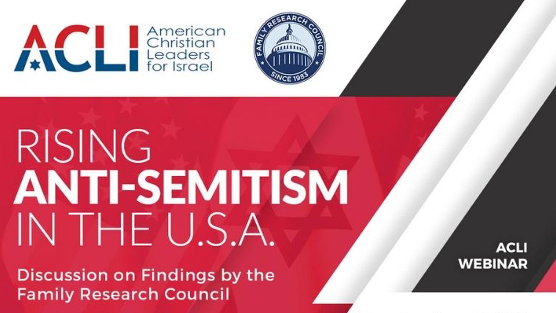 2021 Rising Antisemitism in the USA Webinar Recording